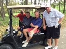 Tom Hof, Steve McGrew, Scott Johnson and Dennis Mulholland