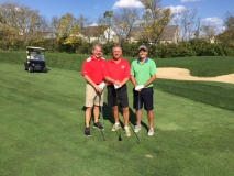 Victor Hipsley, Richard Hillis and Andrew Huffman