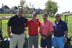 Kirk Barton, Anthony Gonzalez, Troy Balderson and Alan Stockmeister
