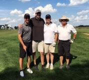 Tim Schroeder, Jim West, Gary Hiles and Bob Fissel