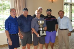 2019-Golf-Outing-Champions-left-to-right-Victor-Hipsley-Jacob-Bell-Jimmy-Wolf-Chris-Thomson-Billy-Stump-and-Grand-Commodore-Sam-Covelli
