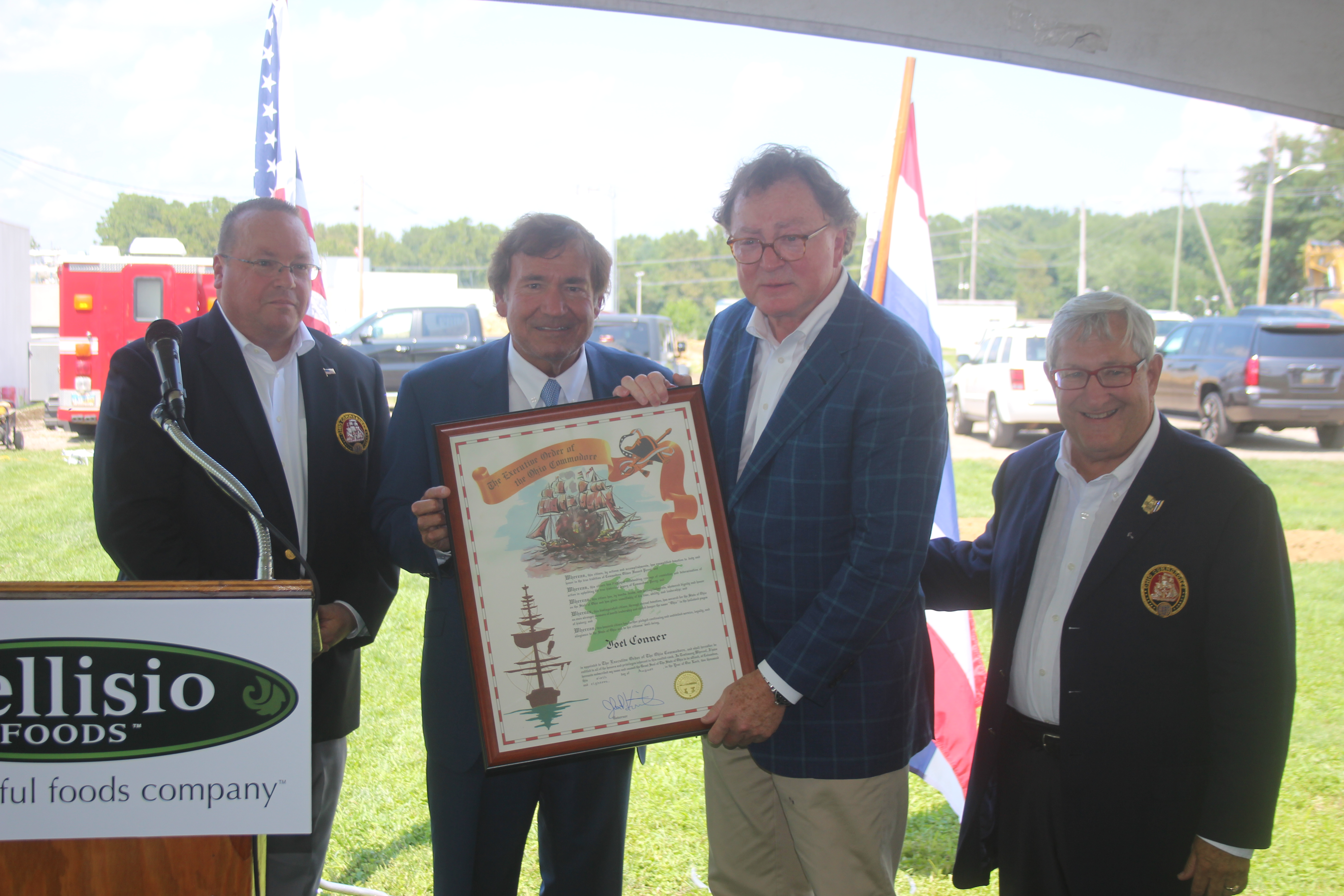 Joel Conner Executive Chairman, Bellisio Foods, Inc.  was inducted into the Association