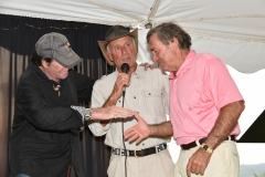 Wayne Newton, Jack Hanna and Fleet Commodore Sam Covelli