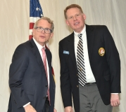 Attorney General and Commodore Mike DeWine and Commodore Brad Young