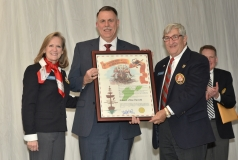 Colonel Chip Tansill, Director of Ohio Veteran Services was inducted into the Association